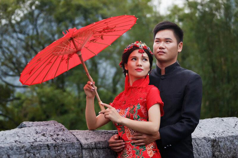 фото китайских свадеб выбирается дизайн