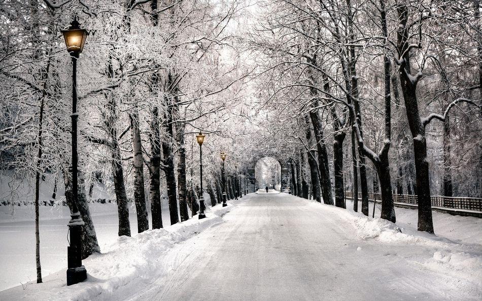 Санкт-Петербург, зима, городской пейзаж
