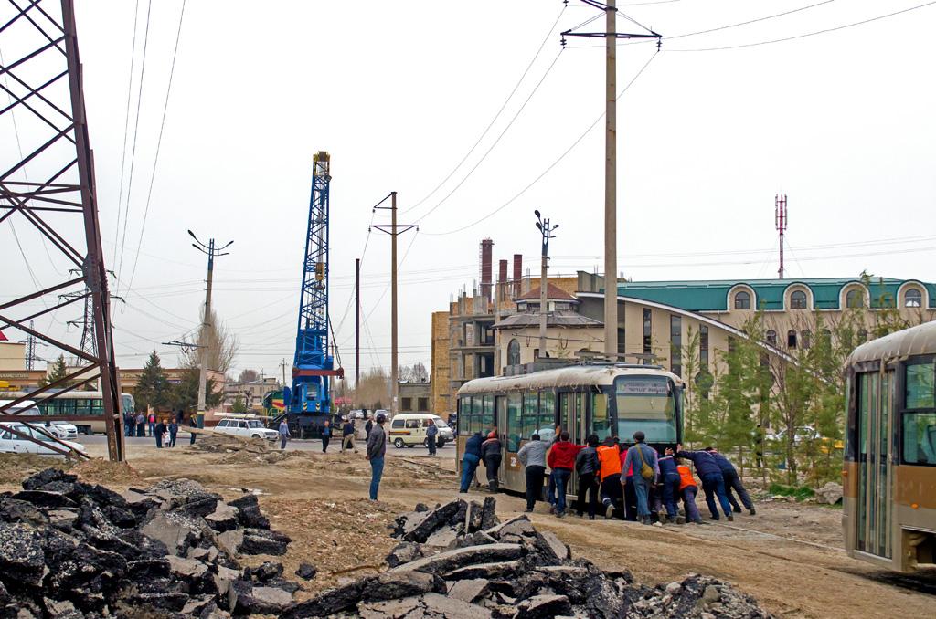 Самаркандский трамвай. Продолжение