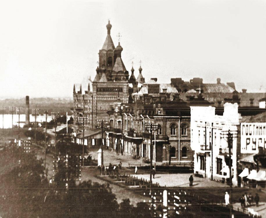 старые фотографии города хабаровска главным врагом