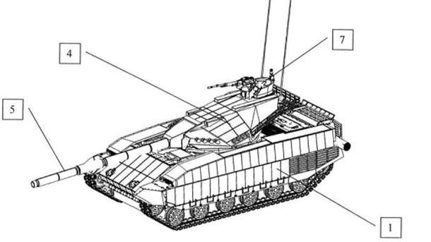 ВУкраинском государстве запатентован пообразу иподобию русского танка «Армата»