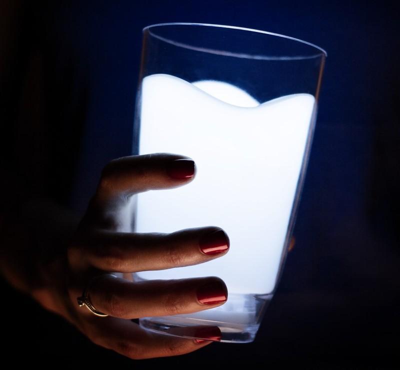6. Стакан-ночник Оригинальный ночник-стакан.