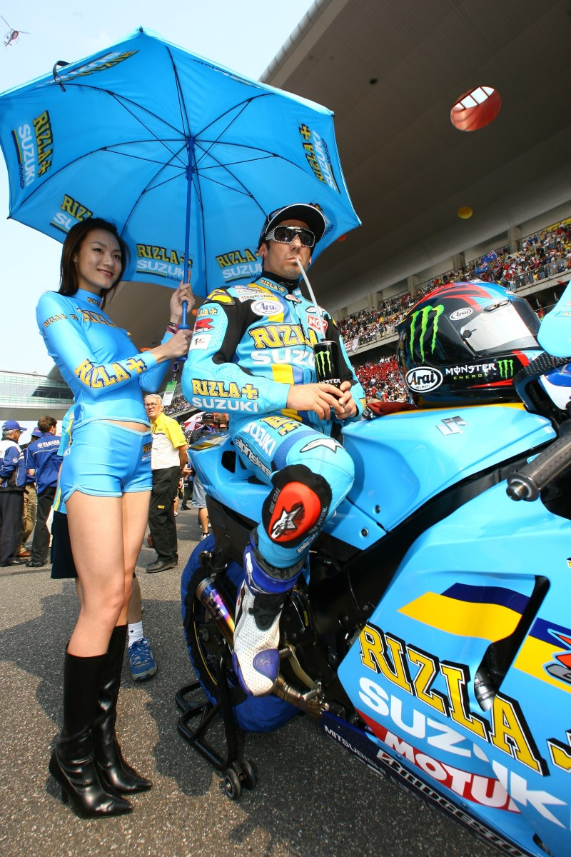 Девушки в команде Suzuki