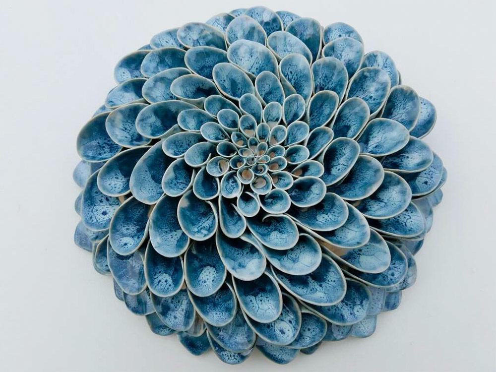 Керамические цветы от Owen Mann (10 фото)