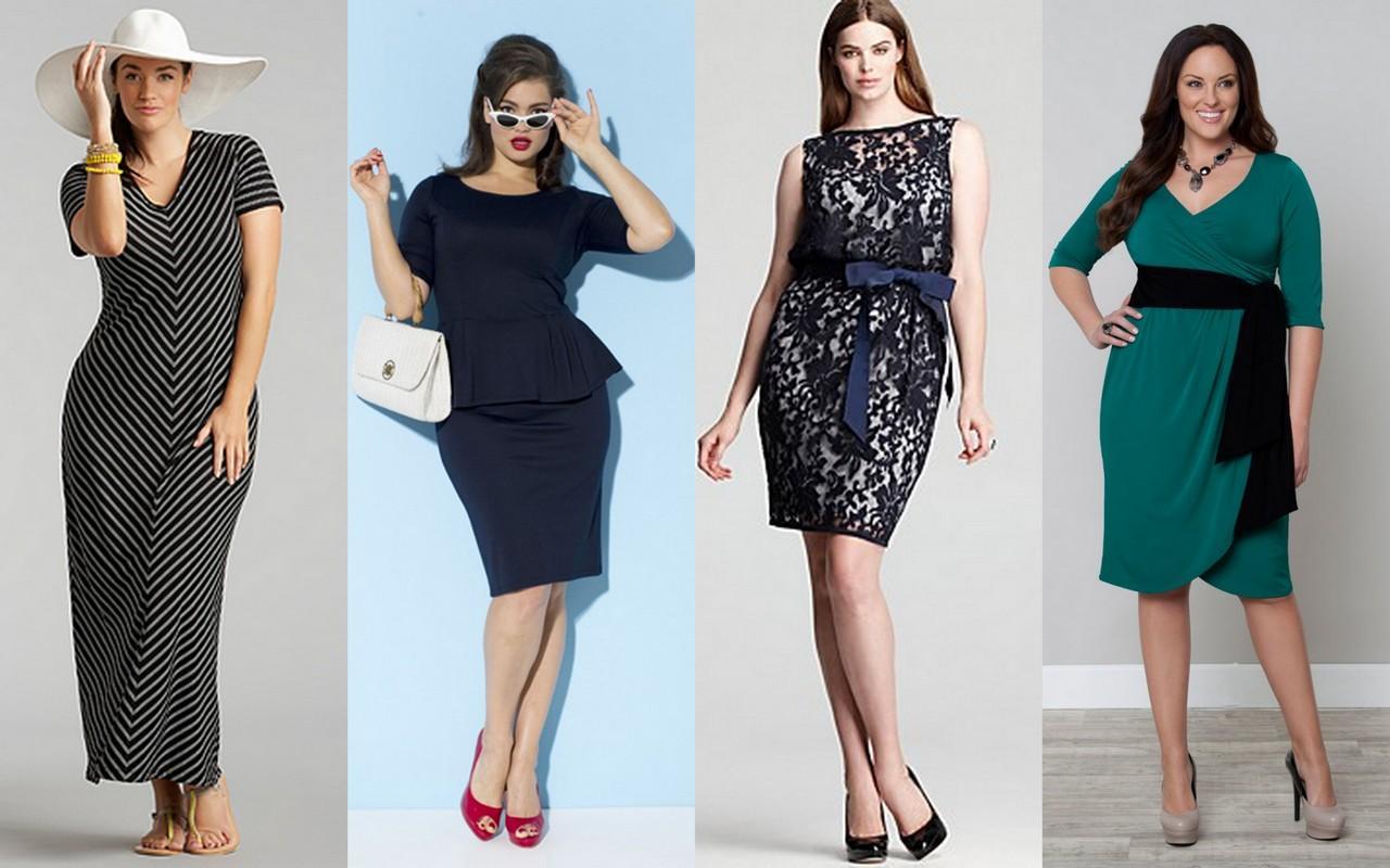 Какая одежда подходит для полных девушек и женщин (1 фото)