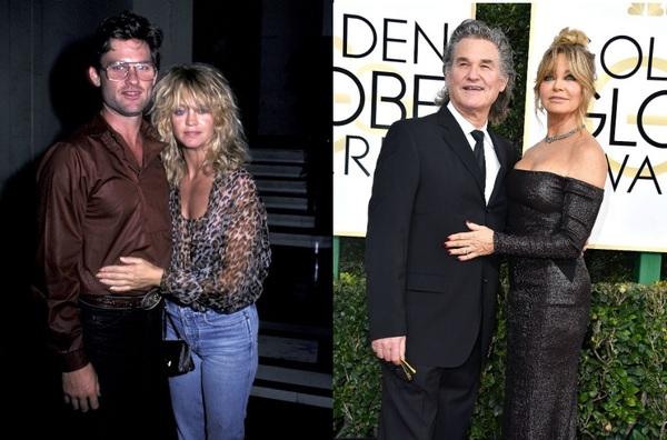 Курт Рассел и Голди Хоун.