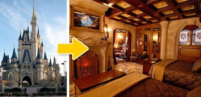 © wikimedia  © disney  Несмотря нато, что комната напоминает номер вочень дорогом отел