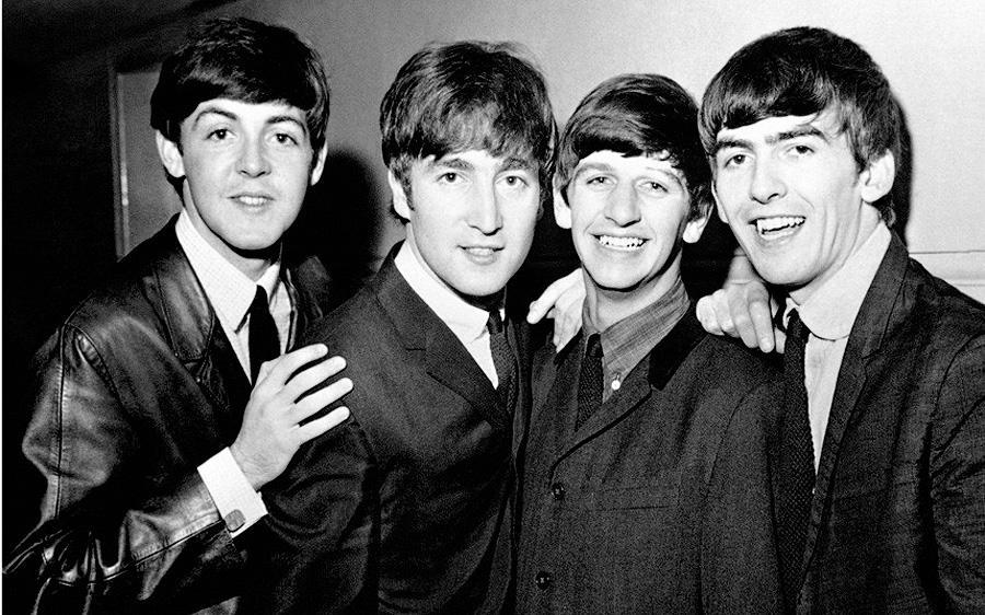 Группа The Beatles в июне 1963 года.