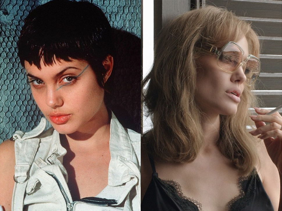 Анджелина Джоли: «Хакеры» (1995) и «Лазурный берег» (2015).