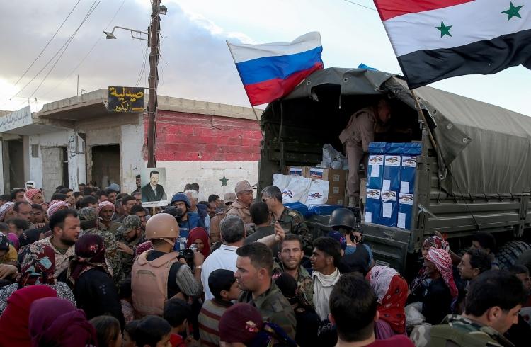 Россией передано 28 тонн гуманитарной помощи населению Сирии