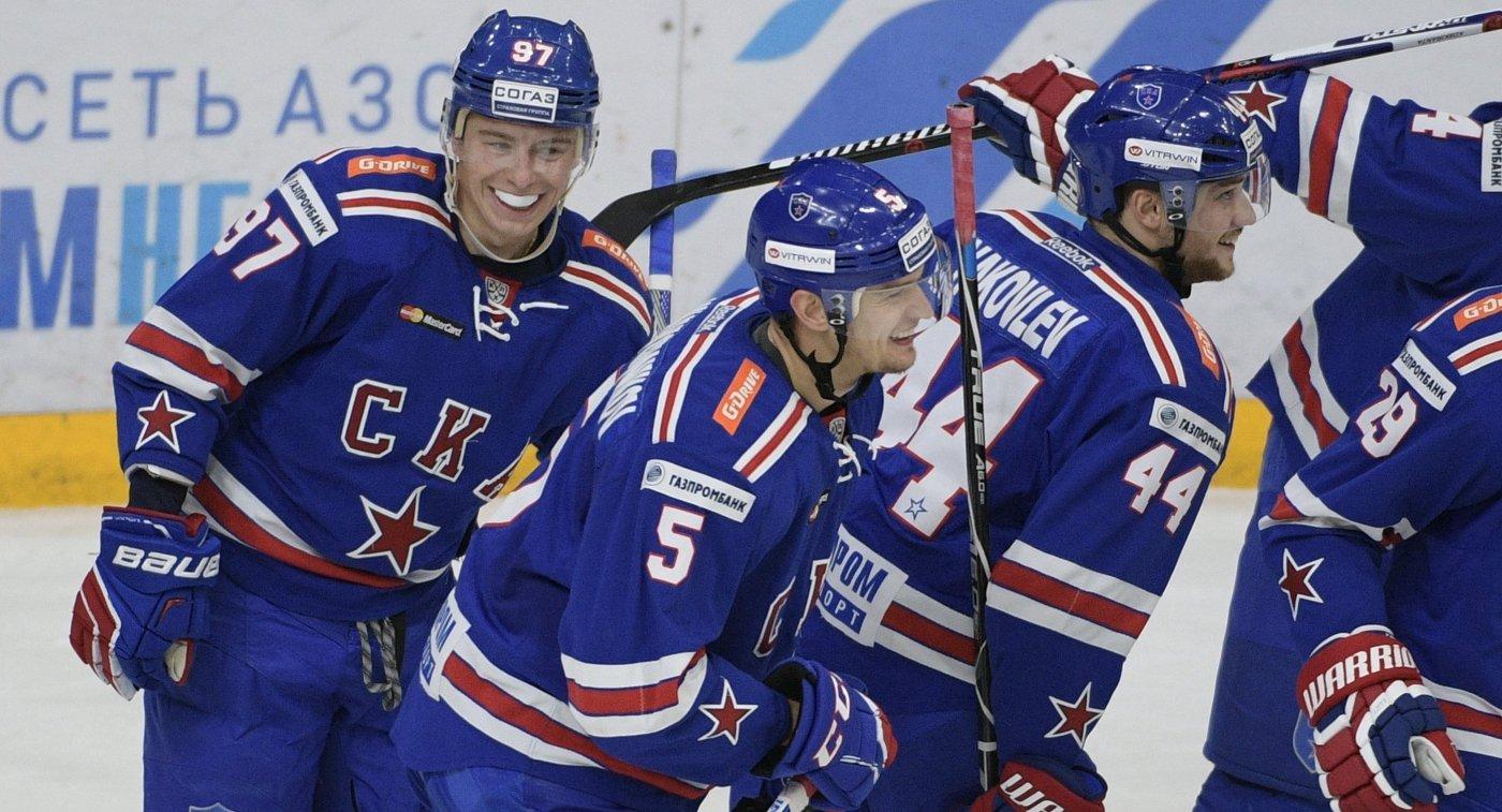 СКА одержал шестую победу подряд вчемпионате КХЛ
