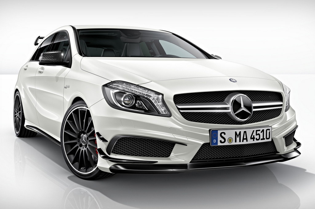 Benz A45 AMG будет иметь мотор мощностью 402 «лошадки»