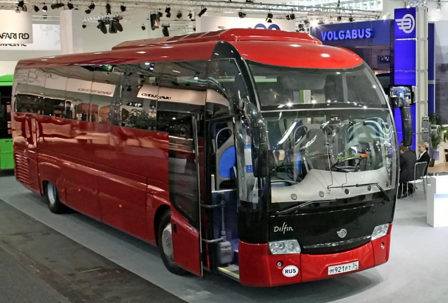 Втекущем году в РФ выпустят беспилотный автобус Матрёшка