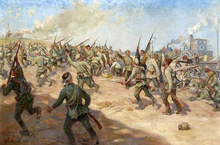12-Михаил Авилов. Красногвардейцы. 1941