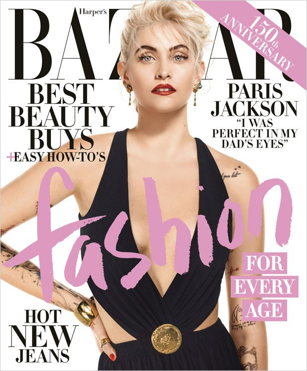 Paris Jackson is the Cover Girl of Harper's Bazaar April 2017 Issue