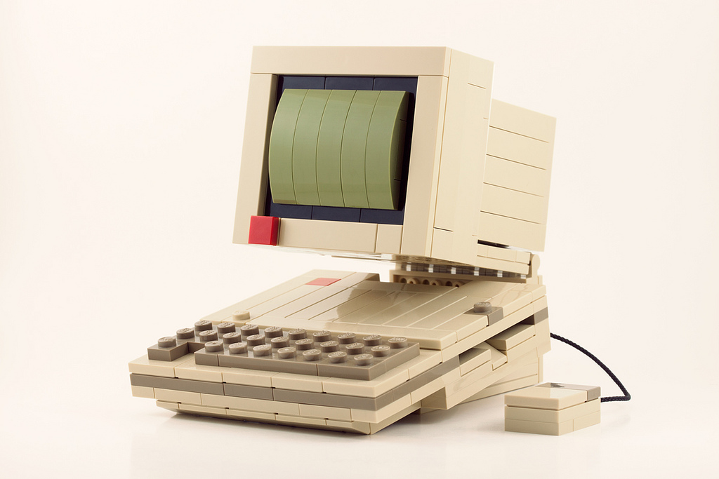 Retro Technology LEGO Kits by Chris McVeigh