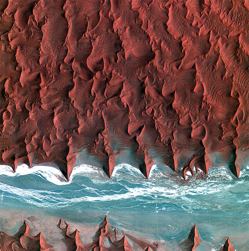 Observing the Earth: Incredible Satellite Photos of Earth from the European Space Agency (9 pics)