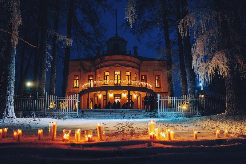 снег на свадьбу