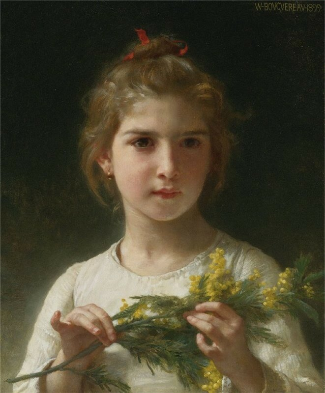 William Bouguereau Mimosa..jpg