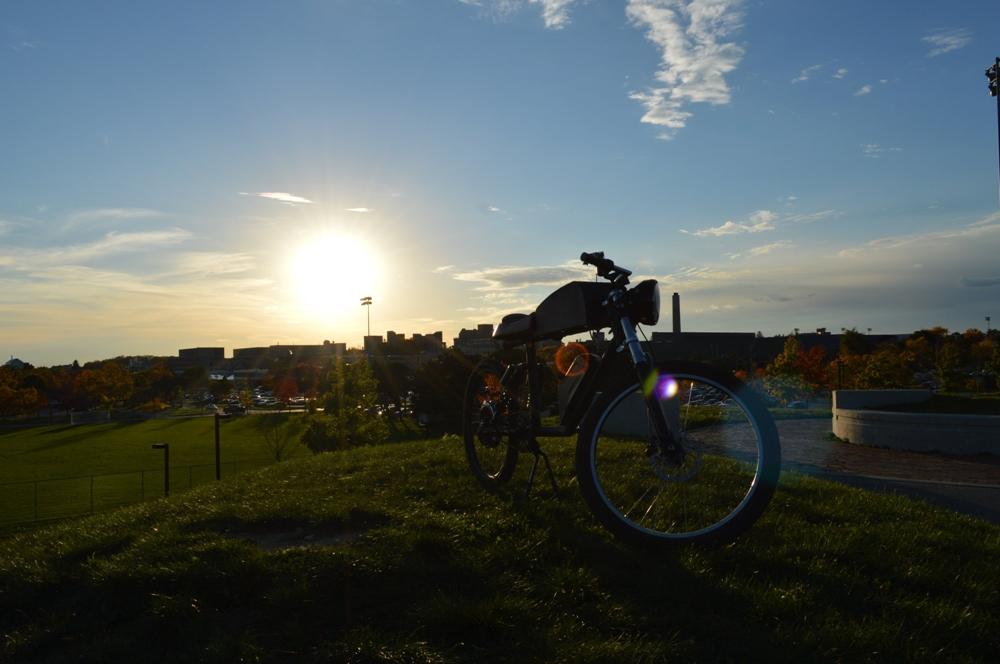Электровелосипед Tempus CR-T1