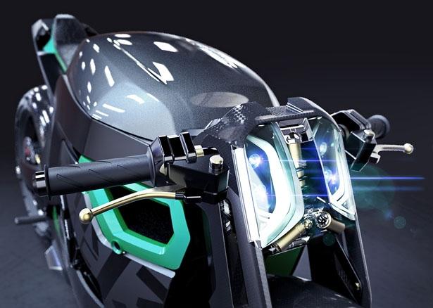 Концепт мотоцикла STR CAF 13