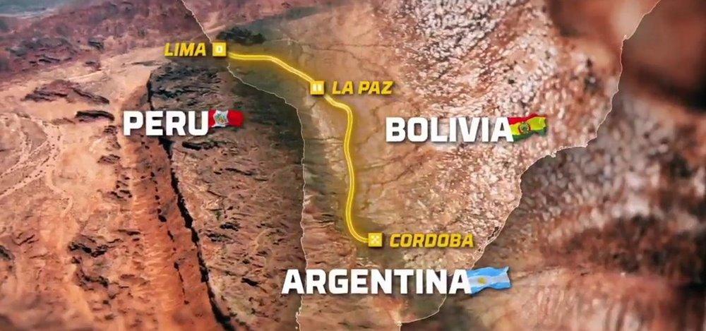 Ралли Дакар 2018 пройдет в Перу, Боливии и Аргентине