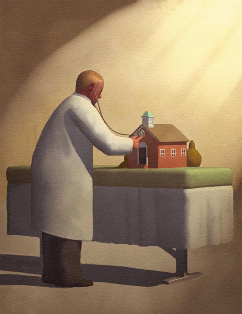 Conceptual Illustrations by Stuart McReath