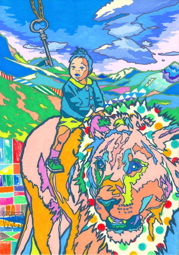 As Ilustracoes Psicodelicas de Asakura Kouhei (12 pics)