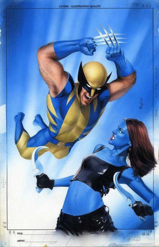 Awesome Comic Art by Mike Mayhew