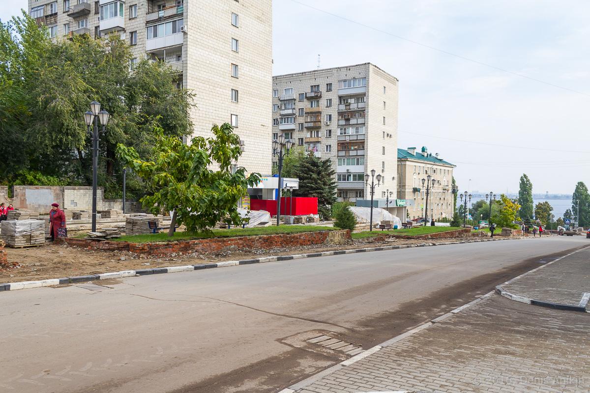 Строительство пешеходной зоны Саратов фото 30