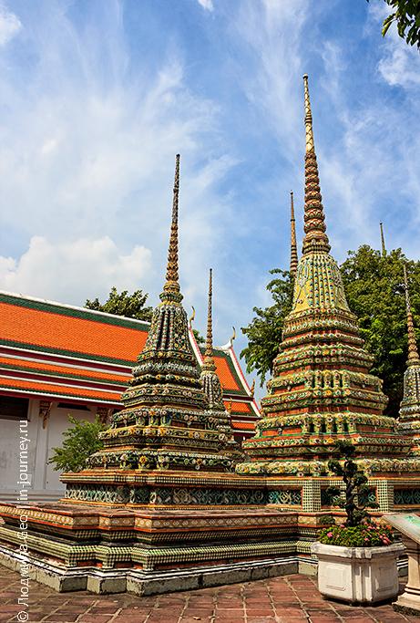 храм спящего будды в тайланде