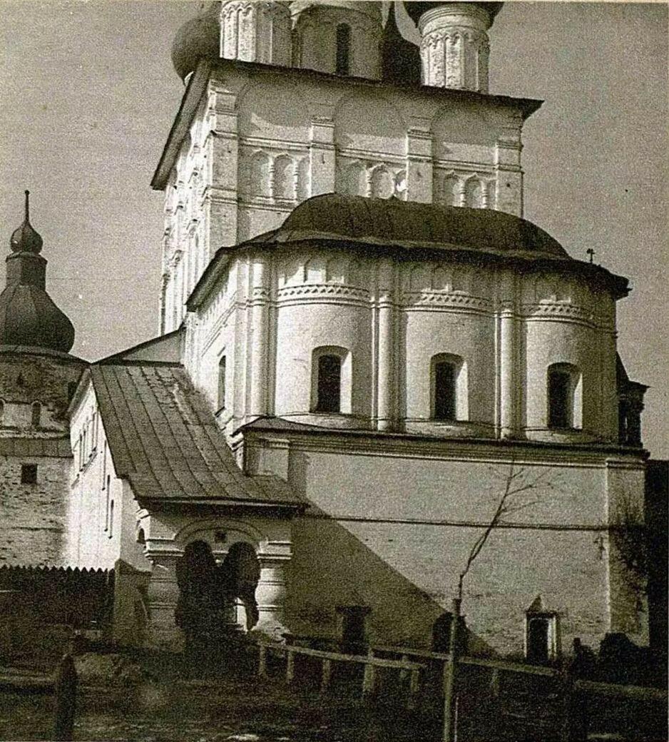 Церковь Иоанна Богослова. Алтарная часть церкви