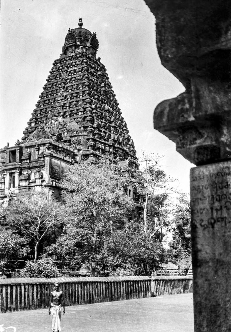 465.Танджавур. Гопурам храма Брахадисвара