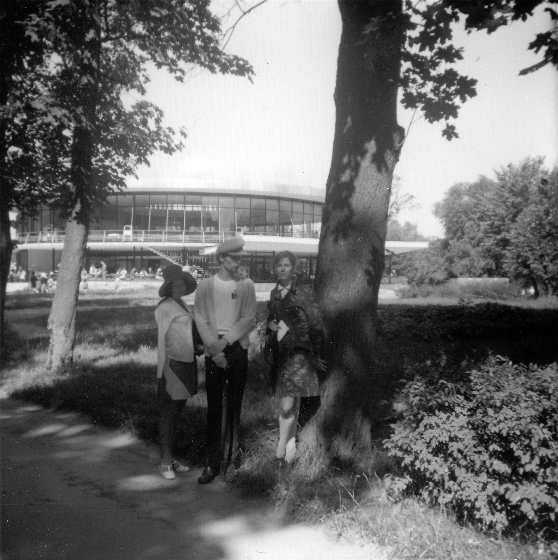 1968. Летний ресторан в Нижнем парке