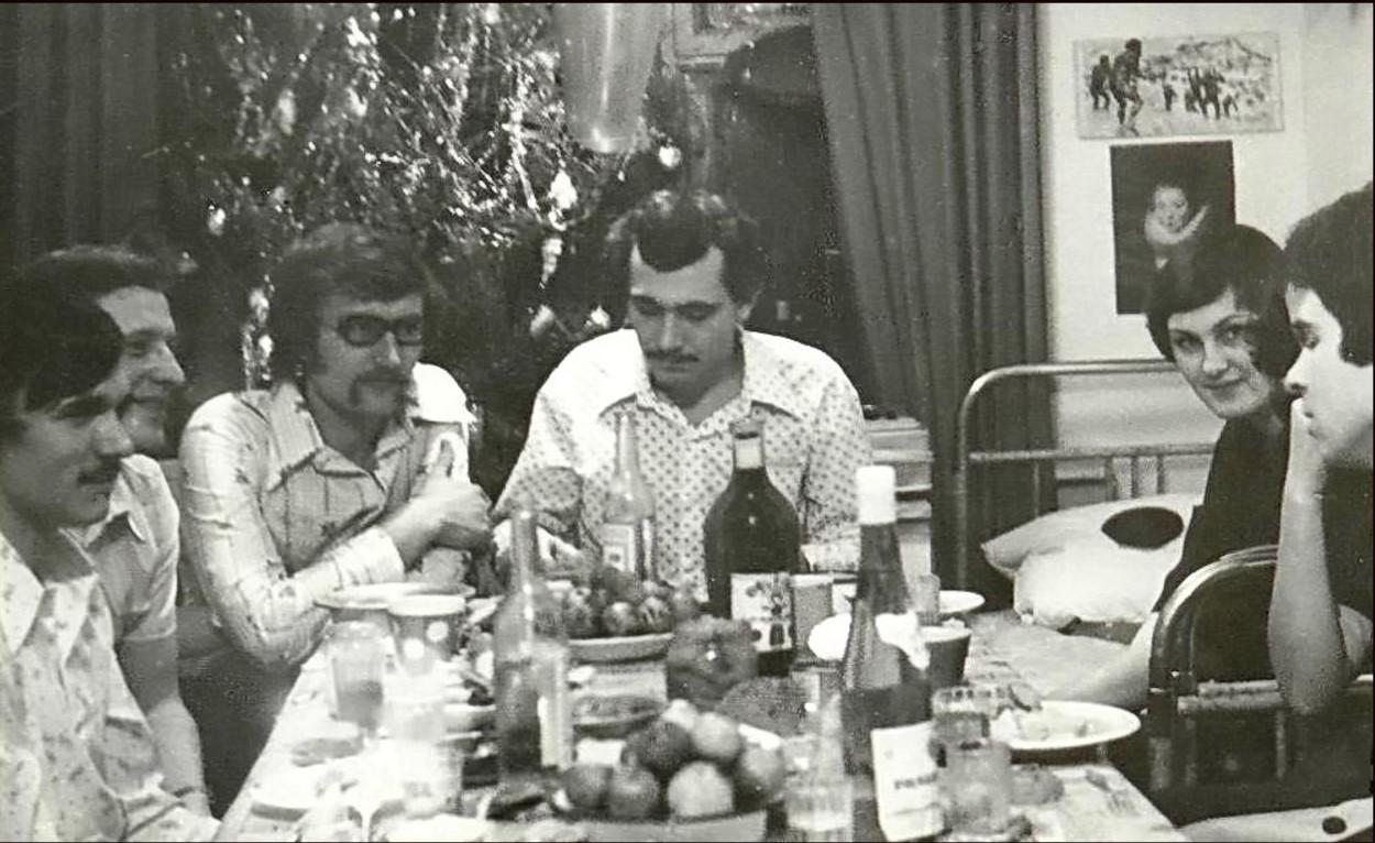 Омск. Студенческое общежитие. Декабрь 1978