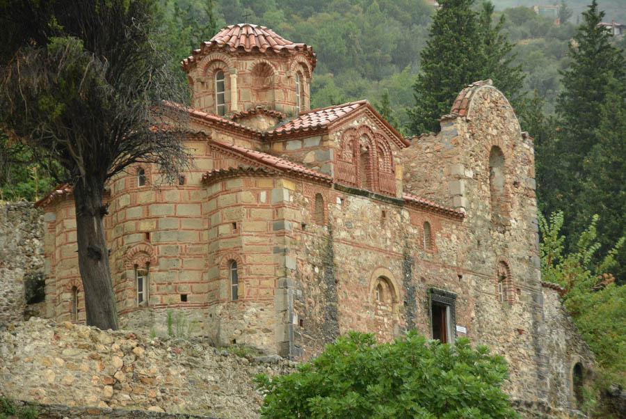Церковь Евангелистрия (Evangelistria), Мистра, конец XIV - нач. XV в.
