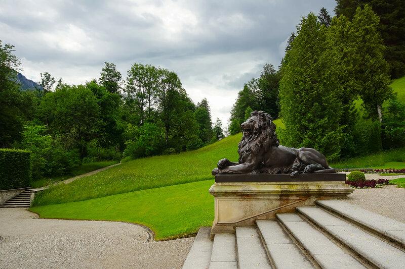 Лев замка Линдерхоф
