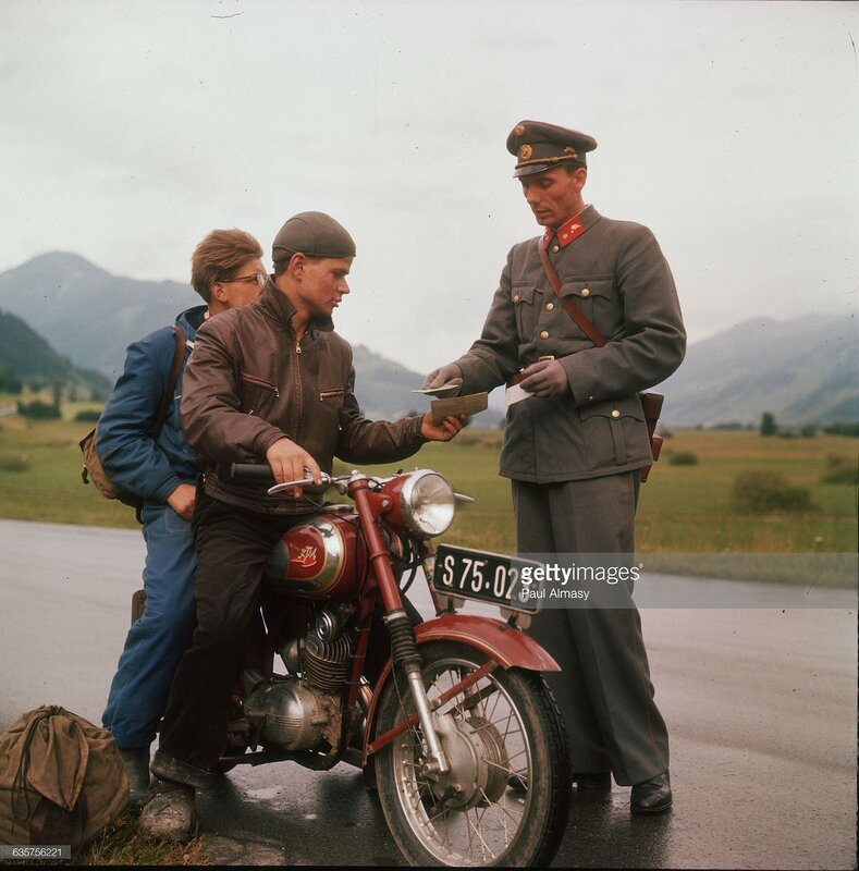 1952 Австрийский полицейский.jpg