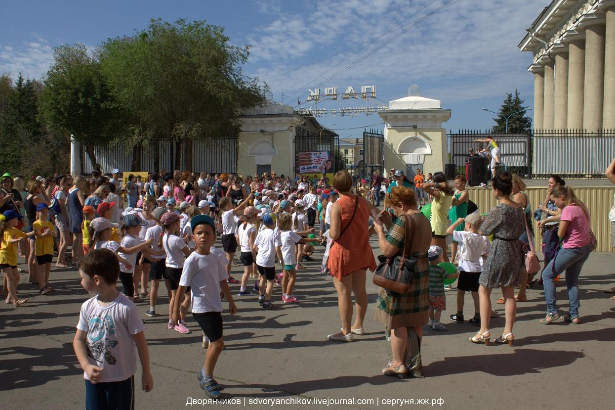 День физкультурника - 13 августа 2016 парк ВГС Волжский