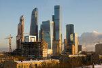 Москва-сити январь 2017