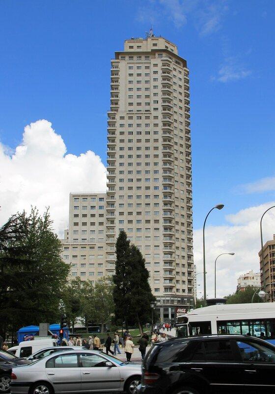 Мадрид. Площадь Испании (Plaza de España)