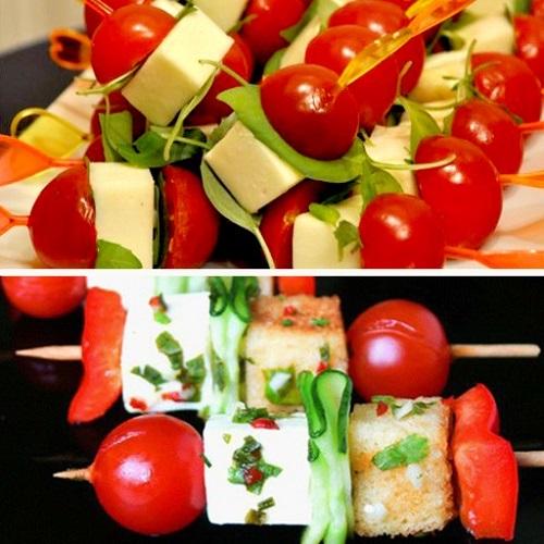 Не забывай о эстетике оформления бутербродов, это очень важно.