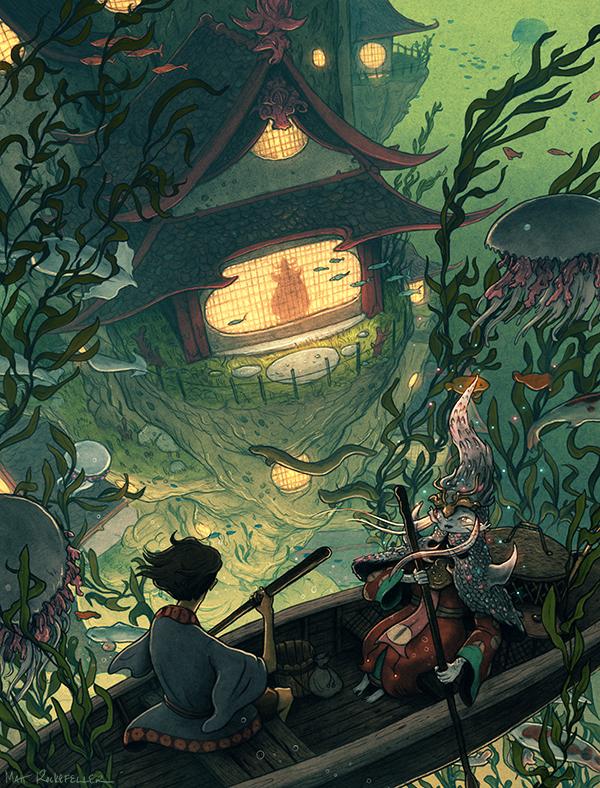 Сказочные иллюстрации Мэтта Рокфеллера