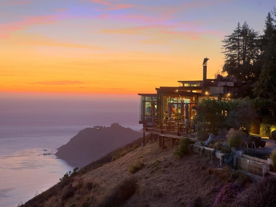 5. The Sierra Mar Restaurant, Калифорния, США Что может быть лучше, чем насладиться самыми изысканны