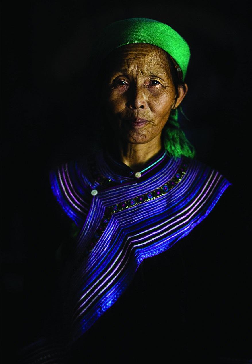 12. Портрет жительницы деревни Сапа.