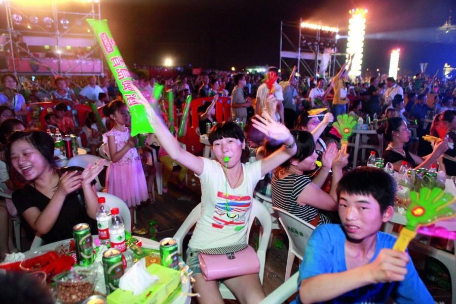 8. Международный фестиваль пива в Циндао Уже в течение трех лет, начиная со второй недели августа в