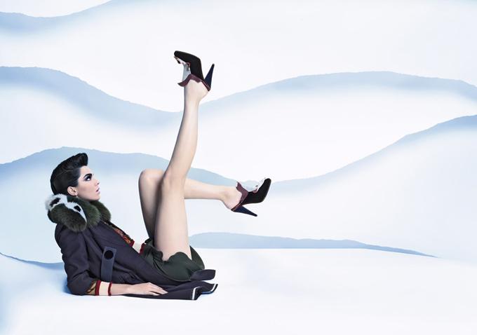 Осенне-зимняя кампания Fendi