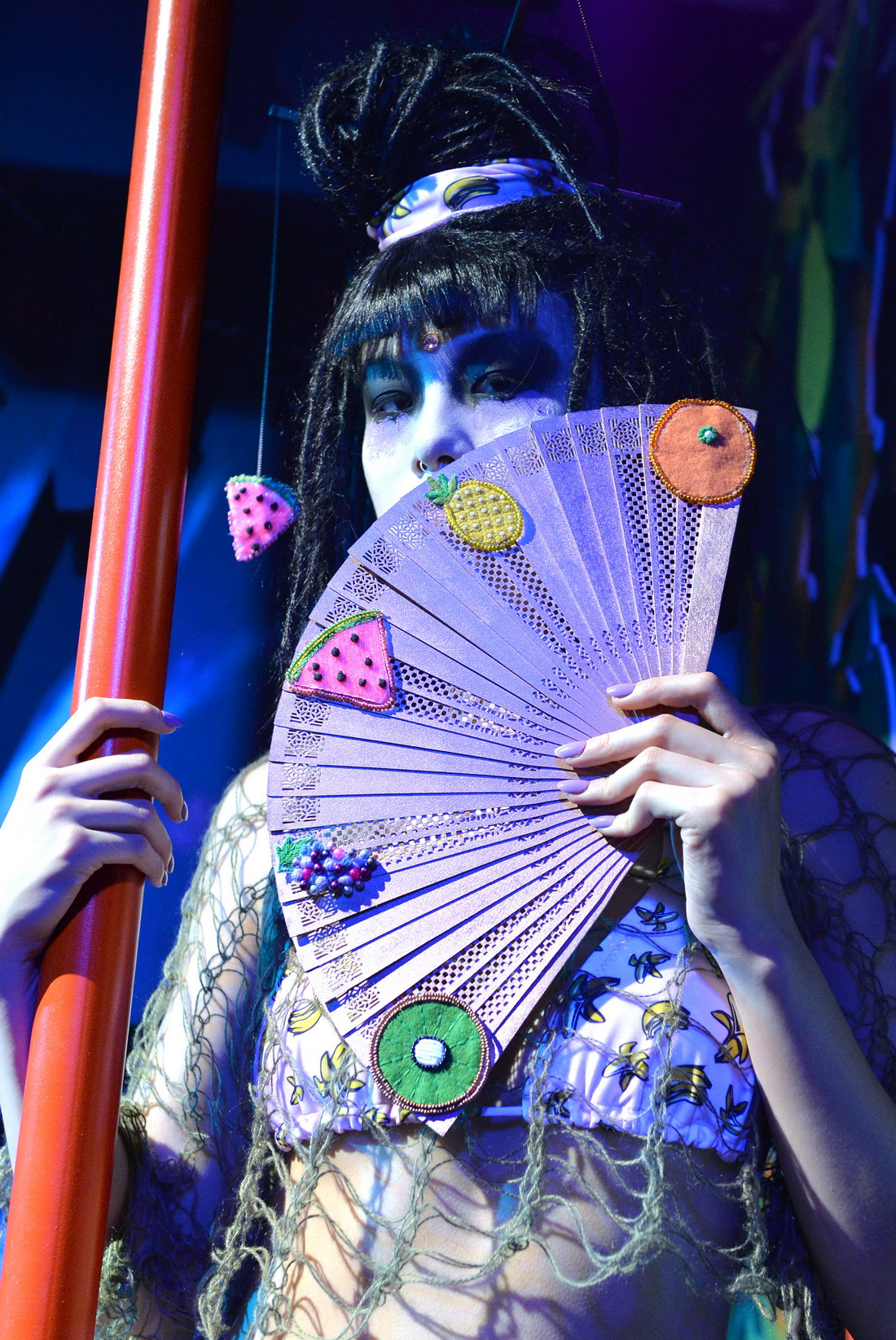Модели Get Wild at London Fashion Week 2015