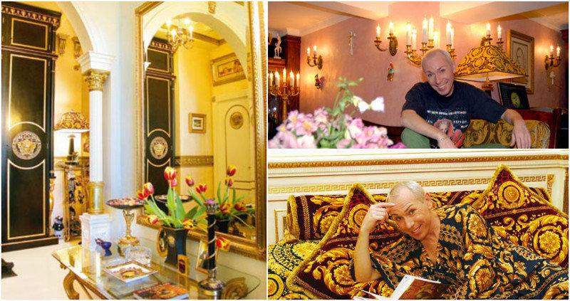Дизайн интерьеров своей квартиры Александр Песков продумывал самостоятельно. «Я обожаю Версаче,