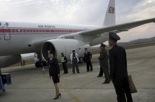 Северокорейский Ту-204 вспыхнул внебе исел в КНР